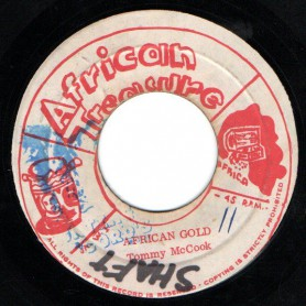 "(7"") TOMMY MCCOOK - AFRICAN GOLD / GOLDEN TREASURE - VERSION"