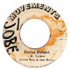 "(7"") LITTLE ROY & IAN ROCK - FORCES DEHDEH / VERSION DEHDEH"