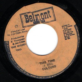 "(7"") CULTURE - THIS TIME / THE MIGHTY TWO - OUR TIME"