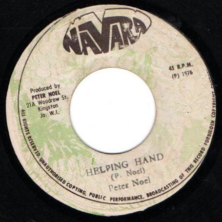 """(7"""") PETER NOEL - HELPING HAND / NAVARA ALL STARS - HELPING VERSION"""