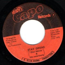 "(7"") GLEN ADAMS - STAY DREAD / STAY DUB"