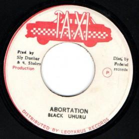 "(7"") BLACK UHURU - ABORTATION / VERSION"