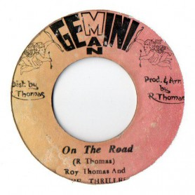 "(7"") ROY THOMAS AND THE THRILLER - ON THE ROAD / VERSION"