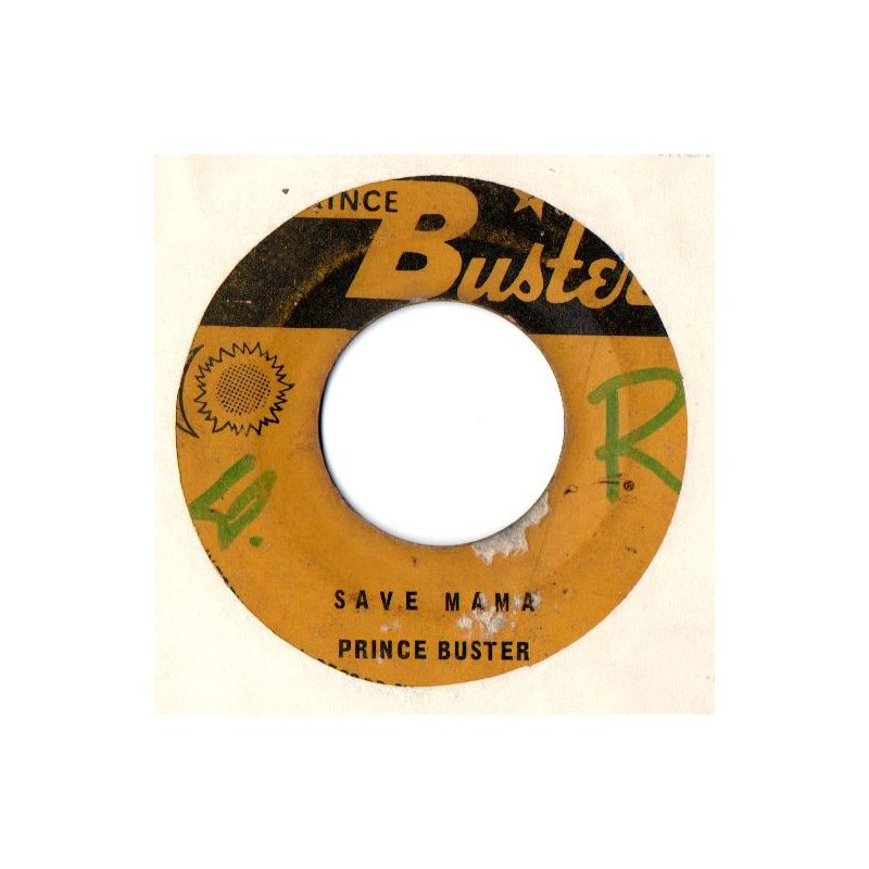 "(7"") PRINCE BUSTER - WASH WASH / SAVE MAMA"