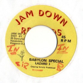 "(7"") LAZARD I - BABYLON SPECIAL / SOUL SYNDICATE BAND - WAR DUBBING"