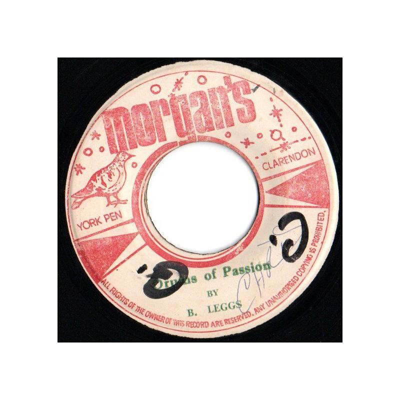 "(7"") B. LEGGS - DRUMS OF PASSION / LOVE & EMOTION VERSION"