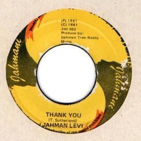 "(7"") I JAHMAN LEVI - THANK YOU / VERSION"