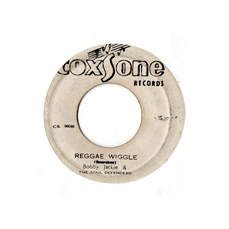 "(7"") BOBBY JACKIE & THE SOUL DEFENDERS - REGGAE WIGGLE / ROY RICHARDS - DUB THRILLS"
