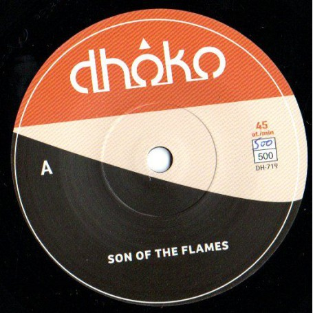 "(7"") DHOKO - SON OF THE FLAMES / FLAMES OF DUB"