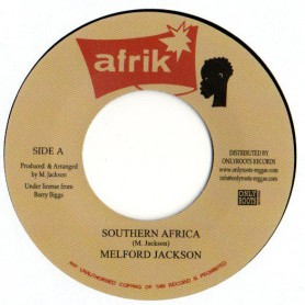"(7"") MELFORD JACKSON - SOUTHERN AFRICA / FAMILY MAN & YOUTH PROFESSIONAL - SOUTHERN VERSION"