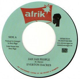 "(7"") EVERTON DACRES - JAH JAH PEOPLE / STEROPHONICS - JAH PEOPLE TIME"