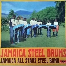 (LP) JAMAICA ALL STARS STEEL BAND - JAMAICA STEEL DRUMS