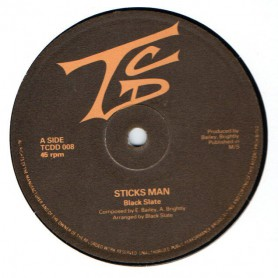 "(12"") BLACK SLATE - STICKS MAN / BOOM BOOM (RASTA FESTIVAL)"