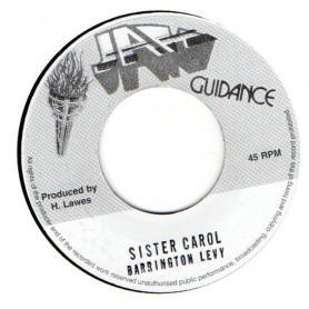 "(7"") BARRINGTON LEVY - SISTER CAROL / VERSION"
