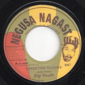 "(7"") BIG YOUTH - TIPPERTONE ROCKING / VERSION"