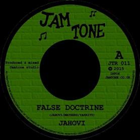 "(7"") JAHOVI - FALSE DOCTRINE / JAMTONE - DOCTRINE OF DUB"