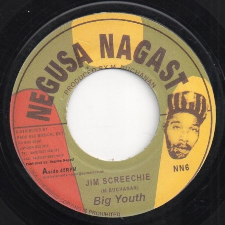 "(7"") BIG YOUTH - JIM SCREECHIE / VERSION"