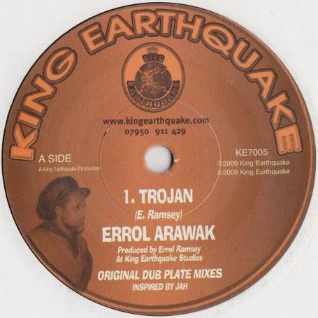 """(7"""") ERROL ARAWAK - TROJAN / TROJAN DUB"""