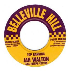 """(7"""") JAH WALTON - TOP RANKING / VERSION"""