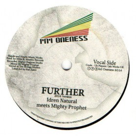 "(7"") IDREN NATURAL MEETS MIGHTY PROPHET - FURTHER / FURTHER DUBWISE"