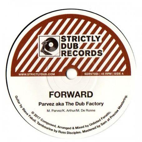 """(7"""") PARVEZ AKA THE DUB FACTORY - FORWARD / UNLISTED FANATIC - FORWARD DUB"""