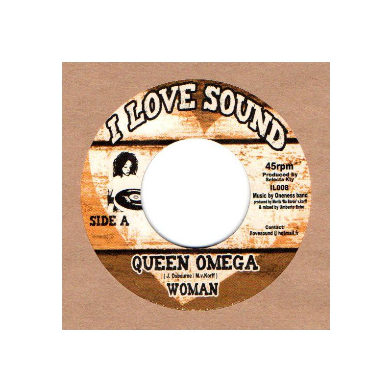"(7"") QUEEN OMEGA - WOMAN / TAMIKA - ENOUGH"