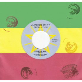 "(7"") SWEENEY WILLIAMS +- NO MORE WAR / DUBWIZE"