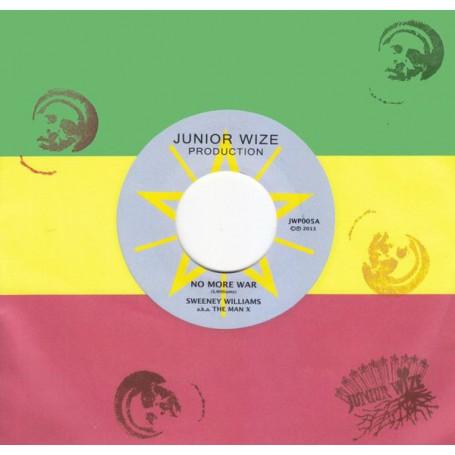 "(7"") SWEENEY WILLIAMS +- NO MORE WAR / DUBWIZE"
