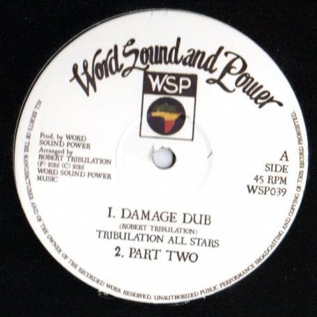 """(12"""") ROBERT TRIBULATION - DAMAGE DUB / JACOB DUB"""