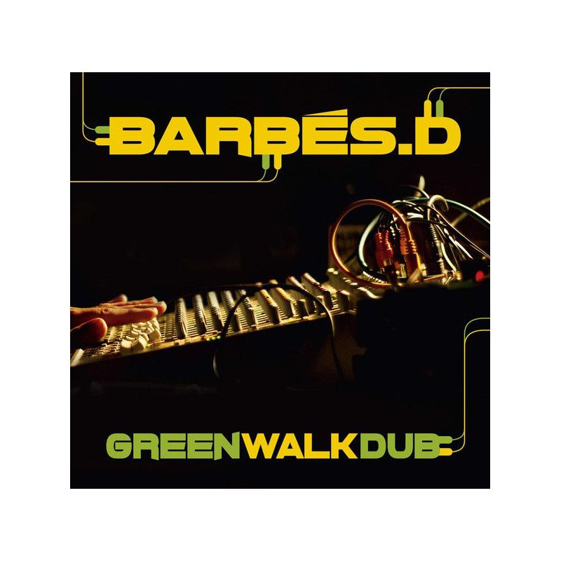 (LP) BARBES D - GREEN WALK DUB