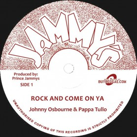"(12"") JOHNNY OSBOURNE & PAPPA TULLO - ROCK AND COME ON YA"