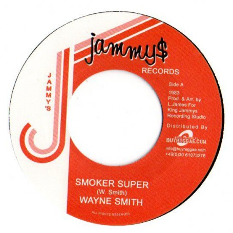 "(7"") WAYNE SMITH - SMOKER SUPER / SMOKER SUPER VERSION"