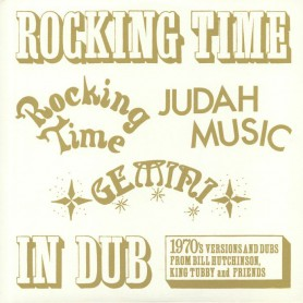 (LP) BILL HUTCHINSON, KING TUBBY & FRIENDS - ROCKING TIME IN DUB
