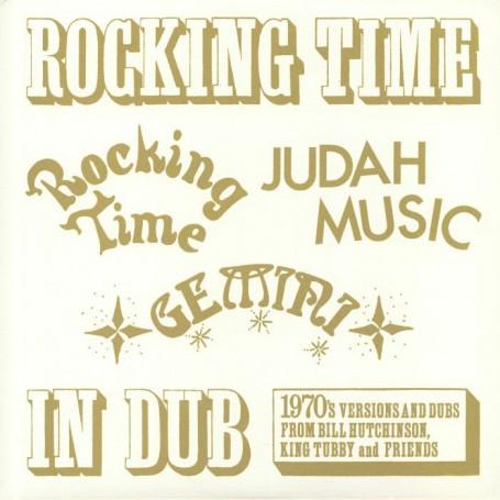 (LP) BILL HUTCHINSON, KING TUBBY & FRIENDS - ROCKING TIME IN DUB