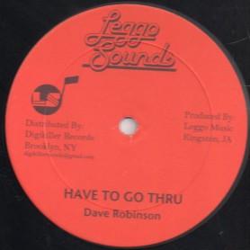"""(12"""") DAVE ROBINSON - HAVE TO GO THRU / VEX VERSION"""