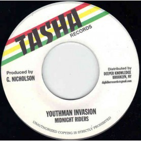 "(7"") MIDNIGHT RIDERS - YOUTHMAN INVASION / VERSION"