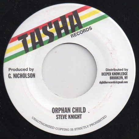 "(7"") STEVE KNIGHT - ORPHAN CHILD / VERSION"