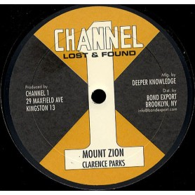 """(10"""") CLARENCE PARKS - MOUNT ZION / BEEN SO LONG"""