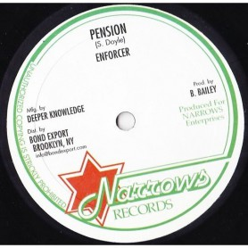 "(10"") ENFORCER - PENSION  / AFRICA WAY"