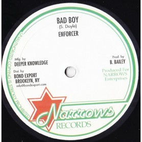 "(10"") ENFORCER - BAD BOY / LEAVING ROME"