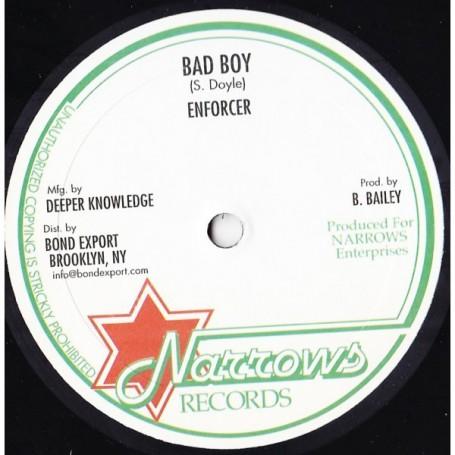 """(10"""") ENFORCER - BAD BOY / LEAVING ROME"""