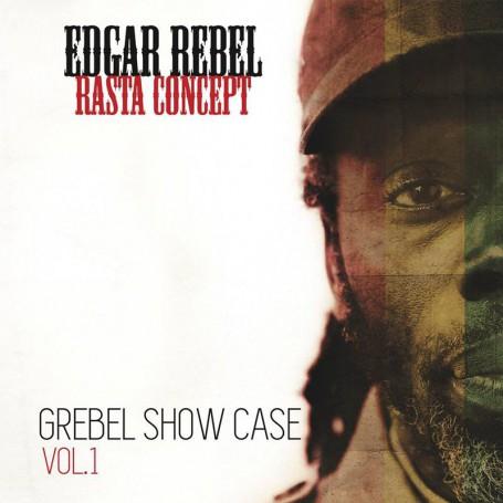 (LP) EDGAR REBEL - RASTA CONCEPT