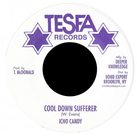 "(7"") ICHO CANDY - COOL DOWN SUFFERER / VERSION"