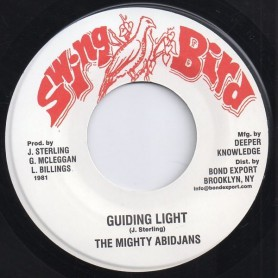 "(7"") MIGHTY ABIDJANS - GUIDING LIGHT / VERSION"