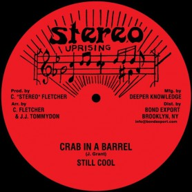 """(10"""") THOMAS WHITE - IVORY GIRL / STILL COOL - CRAB IN A BARREL"""