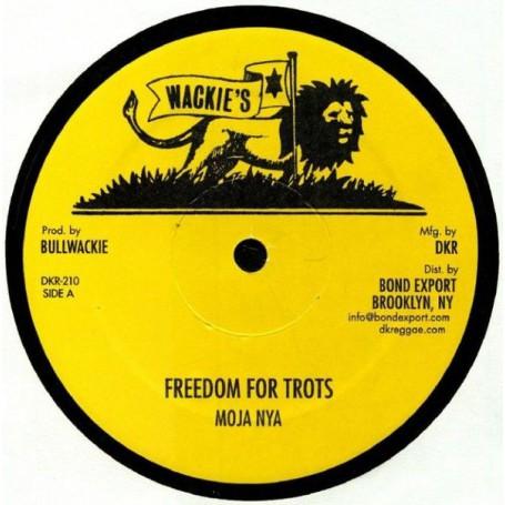 "(12"") MOJA NYA - FREEDOM FOR TROTS / JAH GUIDE"