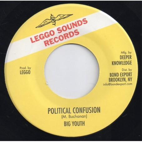 """(7"""") BIG YOUTH - POLITICAL CONFUSION / VERSION"""