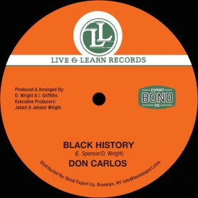 "(12"") DON CARLOS - BLACK HISTORY / WOMAN CHANGE YOUR WAYS"