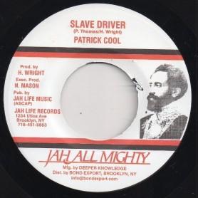 "(7"") PATRICK COOL - SLAVE DRIVER / VERSION"