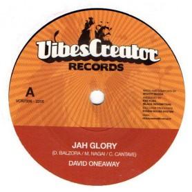 "(7"") DAVID ONEAWAY - JAH GLORY / MIGHTY MASSA - GLORY DUB"